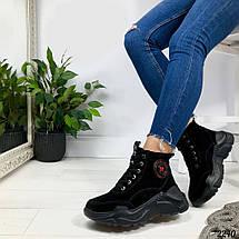 Замшевые ботинки зимой, фото 2
