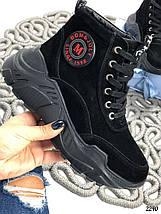 Замшевые ботинки зимой, фото 3