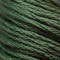 Мулине DMC (ДМС) для вышивания, №520, Fern Green - dk  (Папоротниковый, т. )