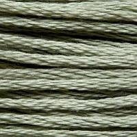 Мулине DMC (ДМС) для вышивания, №524, Fern Green - vy lt  (Папоротниковый, оч.св. )