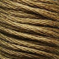 Мулине DMC (ДМС) для вышивания, №610, Drab Brown - vy dk  (Тускло-коричневый, оч.т. )