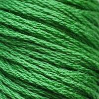 Мулине DMC (ДМС) для вышивания, №701, Christmas Green - lt  (Рождественский зеленый, св. )