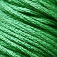 Мулине DMC (ДМС) для вышивания, №702, Kelly Green  (Мутновато-зеленый )