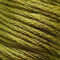 Мулине DMC (ДМС) для вышивания, №732, Olive Green  (Оливково-зеленый )