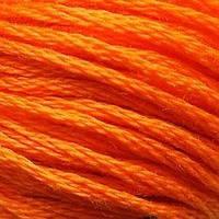 Мулине DMC (ДМС) для вышивания, №740, Tangerine  (Мандариновый )