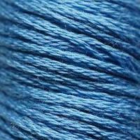 Мулине DMC (ДМС) для вышивания, №826, Blue - med  (Синий, ср. )