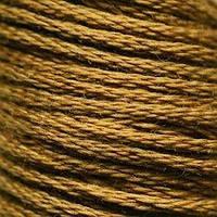 Мулине DMC (ДМС) для вышивания, №829, Golden Olive - vy dk  (Оливково-золотой, оч.т. )