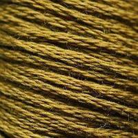 Мулине DMC (ДМС) для вышивания, №830, Golden Olive - dk  (Оливково-золотой, т. )