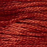 Мулине DMC (ДМС) для вышивания, №918, Red Copper - dk  (Красной меди, т. )