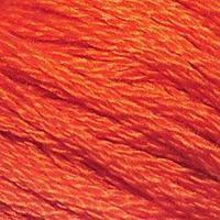 Мулине DMC (ДМС) для вышивания, №946, Burnt Orange - med  (Оранжево-жженный, ср. )