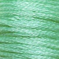 Мулине DMC (ДМС) для вышивания, №955, Nile Green - lt  (Мутно-зеленый, св. )