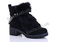"""Ботинки зимние женские """"Gallop Lin"""" #D13. р-р 36-41. Цвет черный. Оптом, фото 1"""