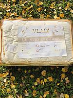 Одеяло полуторное ВЛАДИ из натуральной шерсти ОБЛЕГЧЕННОЕ, размер 140/205 см