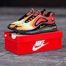 Кроссовки мужские Nike Air Max 720 оранжевые (Top replic), фото 2