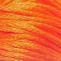 Мулине DMC (ДМС) для вышивания, №970, Pumpkin - bright  (Тыквенный, яркий )
