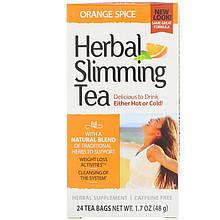 """Травяной чай для похудения 21st Century """"Herbal Slimming Tea"""" с апельсином и специями, без кофеина (48 г)"""