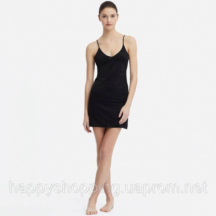 Женская черная ночная рубашка Uniqlo (Alexander Wang) (Размеры - M,L)