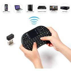 Беспроводная аккумуляторная мини клавиатураUKB-500-RF для смарт ТВ/ПК/планшетовМультимедийнаятачпадом