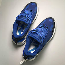 Кроссовки мужские Nike M2K Tekno синие-белые (Top replic), фото 2