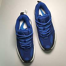 Кроссовки мужские Nike M2K Tekno синие-белые (Top replic), фото 3