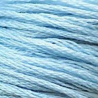 Мулине DMC (ДМС) для вышивания, №3753, Antique Blue - ultra vy lt  (Античный синий, ультра св. )