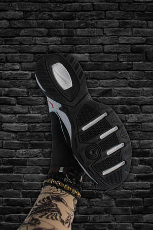 Кроссовки мужские Nike M2K Tekno черные-белые (Top replic), фото 2