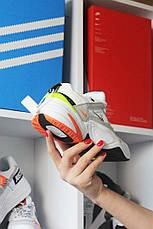 Кроссовки мужские Nike M2K Tekno белые (Top replic), фото 3