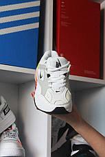 Кроссовки мужские Nike M2K Tekno белые (Top replic), фото 2