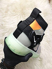 Кроссовки мужские Nike Air Force Night серые (Top replic), фото 2