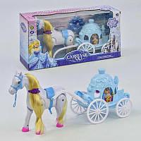 """Игровой набор «Карета принцессы"""" 686-723 (24/2) звуковые эффекты, в коробке"""