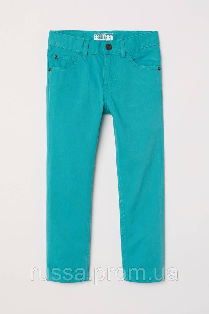 Детские бирюзовые брюки для мальчика