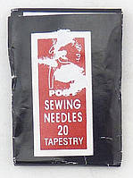 Иглы под вышивку мулине №20, цена за 1 шт.