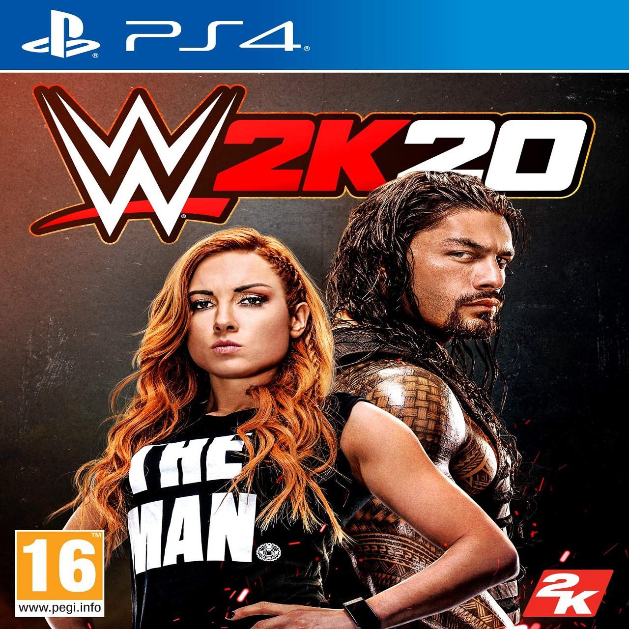 WWE 2K20 ENG PS4