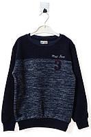 Джемпер для ребёнка/мальчик 95% хлопок, 5% эластан Синий Yuko все размеры  5 лет (110 см)