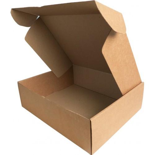 Подарочная коробка самосборная средняя 300 х 240 х 90 + сено