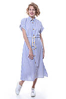 Платье  70% полиэстер, 30% хлопок комбинированный Caliente все размеры  L