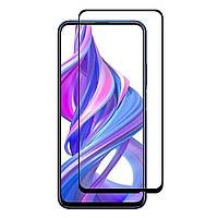 Защитное стекло 3D 19D (full glue) (без упаковки) для Huawei Honor 9X