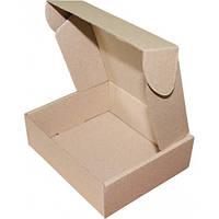 Подарочная коробка самосборная  маленькая 150 x 130 x 50, + сено