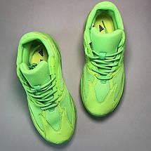 Кроссовки мужские Adidas Yeezy Boost 700 зеленые (Top replic), фото 2