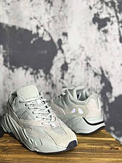 Кроссовки мужские Adidas Yeezy Boost 700 серые (Top replic), фото 2
