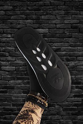 Кроссовки мужские Adidas Sharks черные-серые (Top replic), фото 3