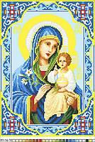 Схемы для вышивки крестом на канве А4-16-70 Икона Неувядаемый цвет