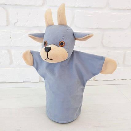 Кукла рукавичка на руку Коза (кукольный театр) 32 см
