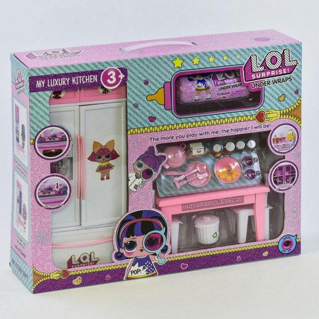 Кухня лялькова РТ 3040 У (24) лялька в капсулі, аксесуари