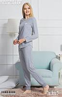 Женская пижамка двойка :кофта и брючки