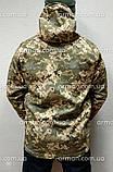 Куртка софтшел пиксель ВСУ. Оригинальная ткань softshell (ветровлагозащитная), фото 4