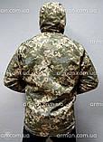 Куртка софтшел пиксель ВСУ. Оригинальная ткань softshell (ветровлагозащитная), фото 8