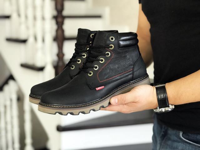 Чоловічі зимові черевики, levi's