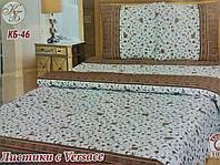 Комплект постельного белья Тиротекс Жатка Листики Vesace Полуторный 144х205