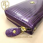 Кошелёк женский лаковый из искусственной кожи на молнии  Shen Duo (8811-1) разные расцветки фиолетовый, фото 3